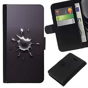 All Phone Most Case / Oferta Especial Cáscara Funda de cuero Monedero Cubierta de proteccion Caso / Wallet Case for Sony Xperia M2 // Abstract Splash