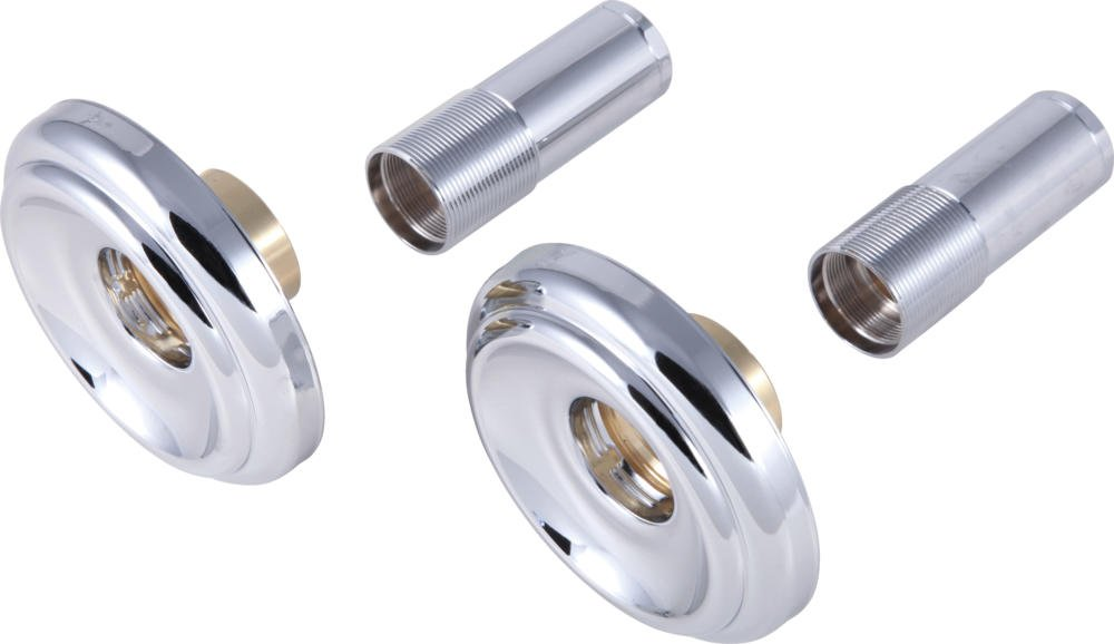 Delta Faucet RP18304 Metal Escutcheons and Sleeves, Chrome