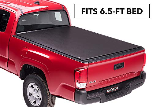 TruXedo Lo Pro Soft Roll-up Truck Bed Tonneau Cover | 545801 | fits 07-19 Toyota Tundra w/Track System 6'6