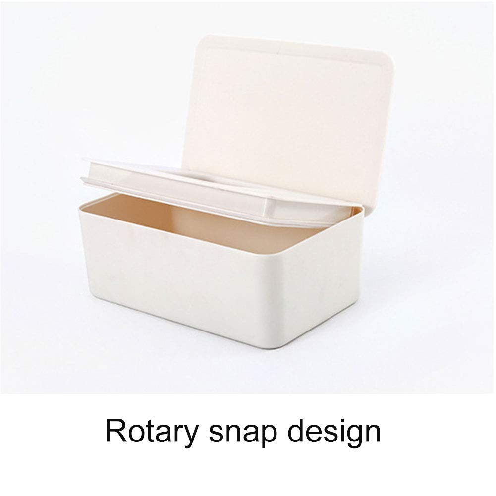 Wet Wipes Dispenser Box Paper Storage Holder with Lid for Home Office Weoto Tissue Storage Box