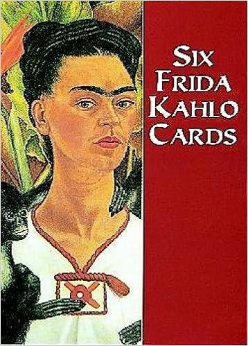 Amazon Six Frida Kahlo Cards Dover Postcards 0800759405916