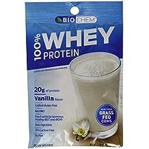 "Biochem 100% Whey Protein ""Vanilla"" Single Serving Packs 30.6 Grams, 10-Count"