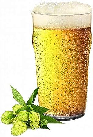 Sables & Reflets 6 vasos de cerveza estilo pub originales, 250 ml
