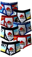 """Fruit of the Loom Angry Birds Little Boys' Toddler """"Fly In"""" 7-Pack Briefs"""