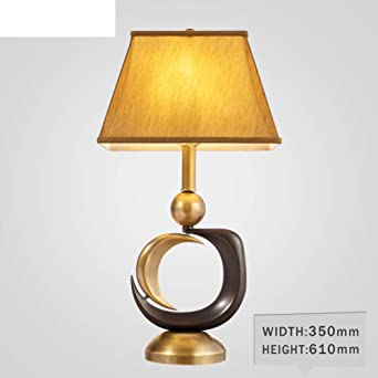 Lámpara de noche para dormitorio,Lámpara de mesa vintage Estudio ...