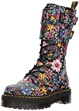 Dr.Martens Womens Jagger Wanderlust Black Mallow Pink Leather Boots 6 US