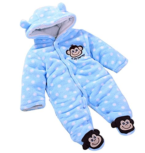 EGELEXY Toddler Velour Winter Jumpsuit product image