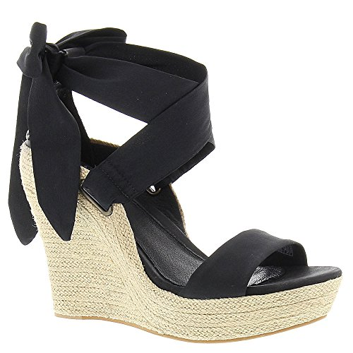UGG Women's Jules Black/Textile/Leather  - Ugg Suede Wedges Shopping Results