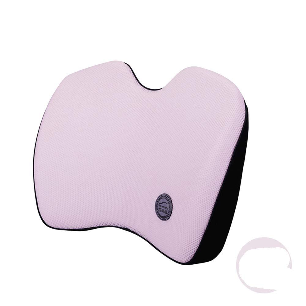 Car Memory Cotton Lumbar Car Waist Cushion Car Waist Pad Back Car Supplies Premium Lumbar Support Pillow Memory Foam Lower Back Support Cushion Zhanghaidong