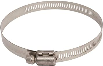 Breeze #63072 1-7//8x5 Stainless Steel Hose Clamp Pack of 10