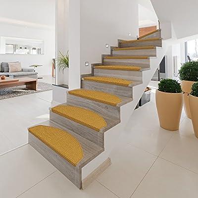 Beliebt 15 x Teppich Stufenmatten Treppenstufen 100% Sisal Natur: Amazon WS41