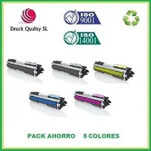 DQ Q3960A, BDQ+DQ Q3961A+DQ Q3962A+DQ Q3963A Pack Ahorro 5 Toner ...