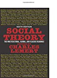 img - for Social Theory book / textbook / text book