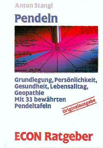 Pendeln Taschenbuch – 1995 Anton Stangl Econ Tb. 3612203312 1001-WS1501-A02010-3612203312