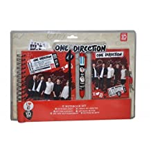 One Direction Red Notebook Set Stationery