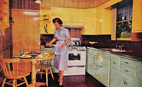 Washington DC Coppes Napanee Kitchen Advertising Vintage Postcard JA4742077