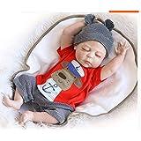 ZIYIUI Realistico Bambola Reborn Baby 20 pollici 50cm Full body Silicone vinile Fatto a mano Neonato Bocca Magnetica bambola Giocattoli