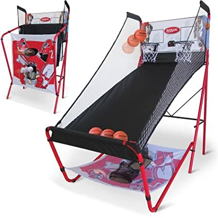 Majik 3-in-1 Triple Threat Sport Center with LED Scoring