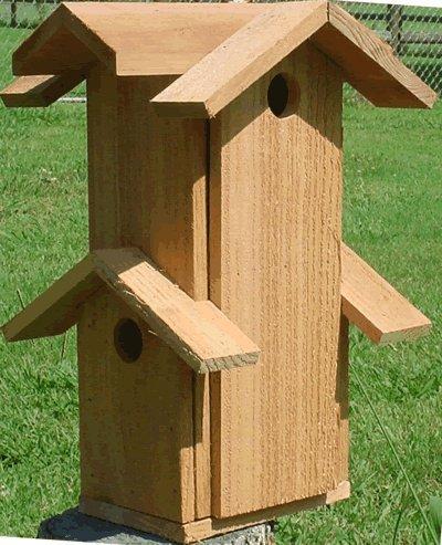 Mini Tower Bird House For Sale