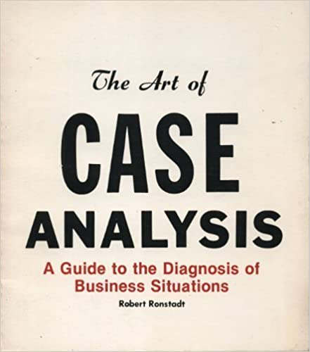 Amazon Art of Case Analysis A Guide to the Diagnosis of – Case Analysis