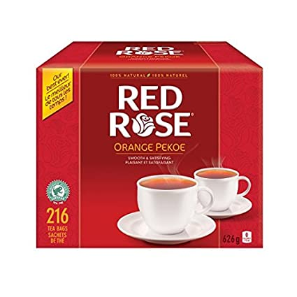 Red Rose Orange Pekoe Tea - 216 ct/626g