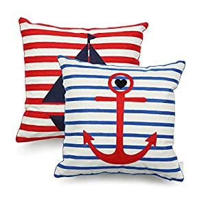 51nlbR0ikPL._SS300_ 100+ Nautical Pillows & Nautical Pillow Covers