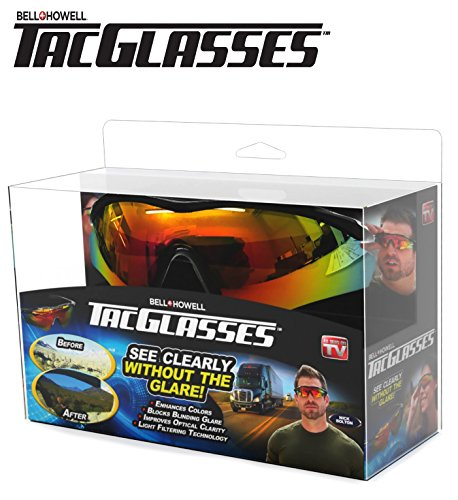 TAC GLASSES by Bell+Howell Sports Polarized Sunglasses for Men/Women, Military-Inspired As Seen On - Online Glasses Try