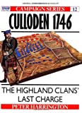 Front cover for the book Culloden 1746: The Highland Clans' Last Charge by Peter Harrington