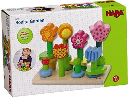 Baby Peg Toys : Haba bonita garden piece wooden mix match stacking