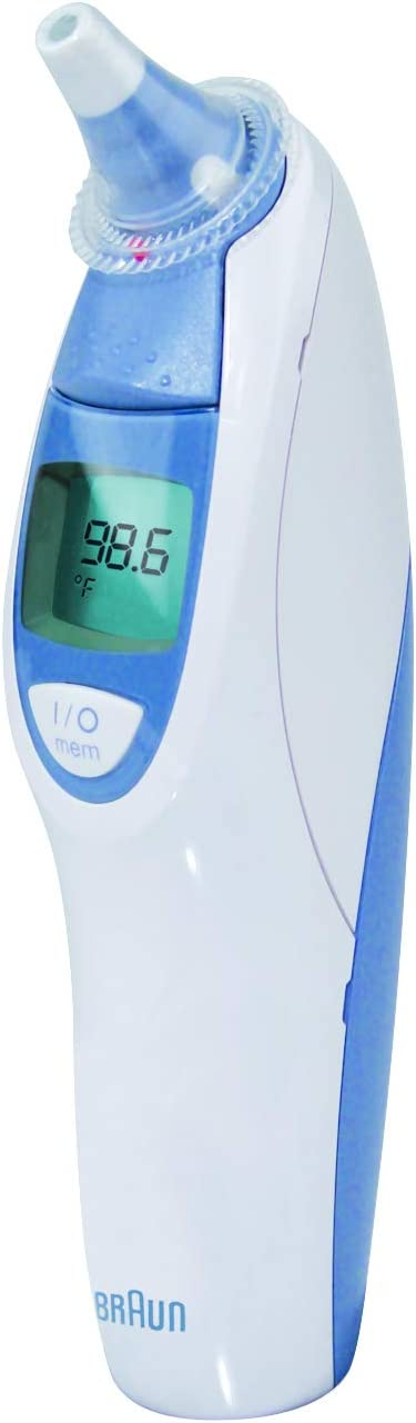 Braun Digital Ear Thermometer, ThermoScan 5 IRT4520, Ear Thermometer for Babies, Kids, Toddlers and Adults, Display is Digital and Accurate, Thermometer for Precise Fever Tracking at Home
