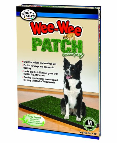 Four Paws Wee-Wee Patch Medium Indoor Potty Dog Housebrea...