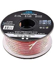 C&E CNE62270 Cable de cobre, sin oxígeno, volumen mejorado, de 30.4 m, para Bocinas