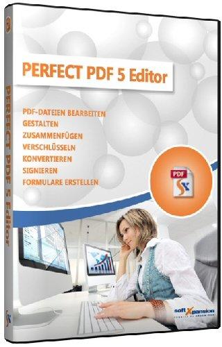 Perfect PDF 5.5 Editor: Bearbeiten, Gestalten, Zusammenfügen, Verschlüsseln, Konvertieren, Signieren, Formulare erstellen