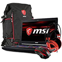MSI GT63 TITAN-046 15.6 Gaming Laptop - Intel Core i7-8750H,GTX1080, 16GB DDR4, 256GB NVMe SSDm +1TB HDD, Win 10 PRO, VR Ready + Gaming Bundle