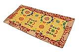 Dharmaobjects Tibetan Buddhist silk brocade table runner/shrine cover/altar cloth/table cover (20 X 10 Inches)