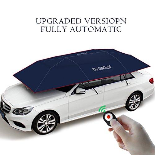 Car Shade Canopy : Yikeshu automatic car umbrella carport tent