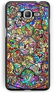 Coque Samsung Galaxy J3 2016 Disney Mosaique Swag Princesse Case Mickey REF10518 REF11048