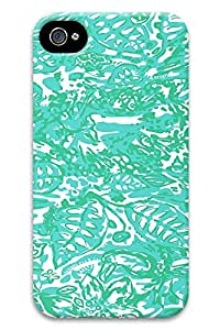 lilly green leaves PC Hard new fashion for iphone 4 cover