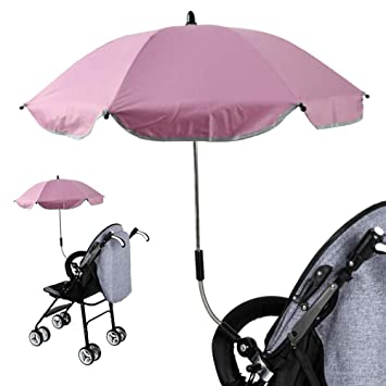 Lifemaison Paraguas de carro de bebé Paraguas para niños con protección UV Paraguas cochecito de bebé
