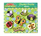 Melissa & Doug Insects Wooden Chunky Puzzle (7 pcs)
