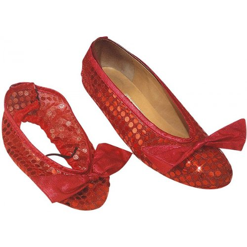 Wizard of Oz Sequin Shoe Covers Adult