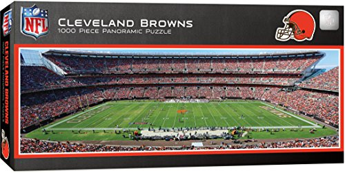 MasterPieces NFL Cleveland Browns 1000 Piece Stadium Panoramic Jigsaw Puzzle