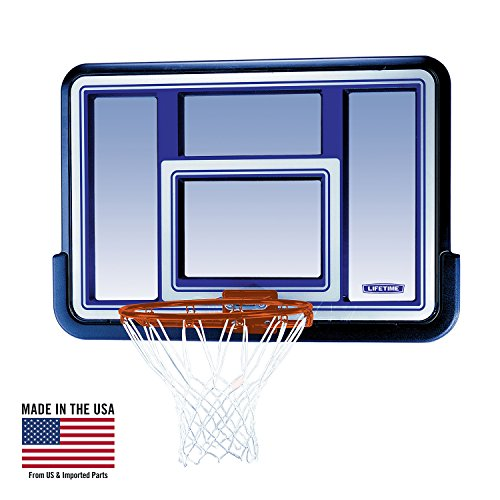 - Lifetime 73650 44 Inch Shatterproof Backboard and Rim Combo Kit