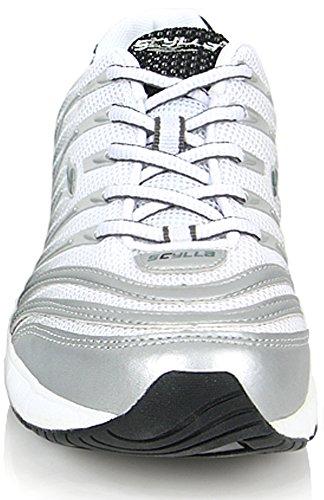 sports shoes ab0c7 77ad1 ... Nouveaux Sports Athlétiques Mode Baskets Femmes Courir Chaussures De  Marche De Formateur Gris ...