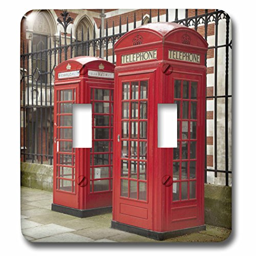 3dRose LLC lsp_82770_2 Phone Boxes, Royal Courts of Justice, London, (Royal Box)