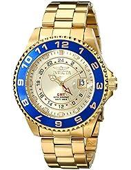 Invicta Mens 17153 Pro Diver Analog Display Swiss Quartz Gold Watch