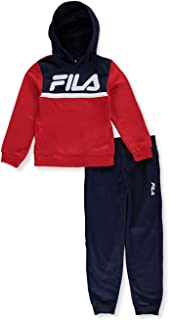 Fila Boys' Logo Underline 2-Piece Sweatsuit Pants Set