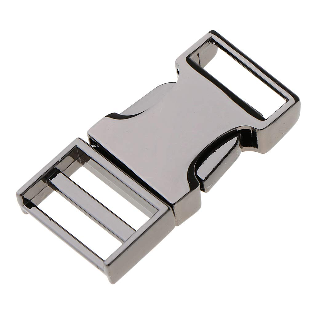 Inner Diameter 19mm Gold SM SunniMix DIY Metal Side Clip Buckle Fastener Webbing Quick Release Clock Closure Parts Supplies