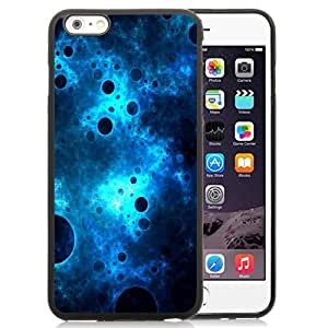 Beautiful Custom Designed Cover Case For iPhone 6 Plus 5.5 Inch With Dark Blue Abstract Bubbles Phone Case Kimberly Kurzendoerfer