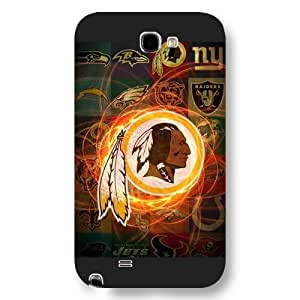 UniqueBox Customized NFL Series Case for Iphone 5/5S, NFL Team Washington Redskins Logo Iphone 5/5S, Only Fit for Iphone 5/5S (Black Frosted Shell)